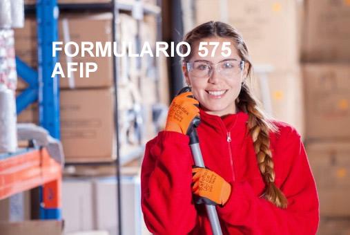 ¿Qué es el Formulario 575?