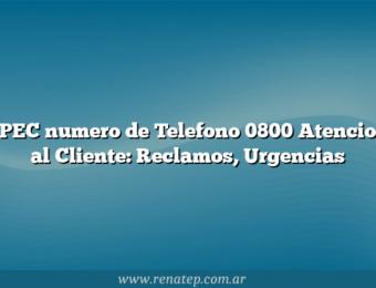 EPEC numero de Telefono 0800 Atencion al Cliente: Reclamos, Urgencias