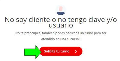 Cómo sacar turno en el Banco Santander Río Argentina  Pedir turno online para atención en sucursal