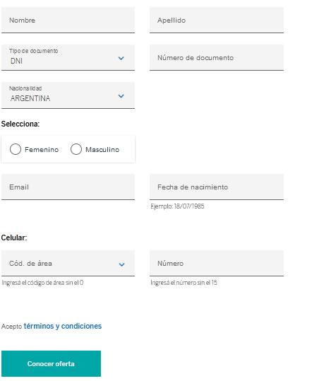 Cómo solicitar la tarjeta de crédito BBVA en Argentina