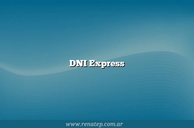 DNI Express